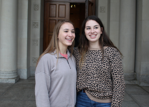 Two juniors from Texas made the trip to Washington, DC, for the March for Life